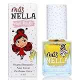 Miss Nella HONEY TWINKLES- giallo Smalto speciale con brillantini per bambini, con formula peel-off, a base d'acqua e senza odori