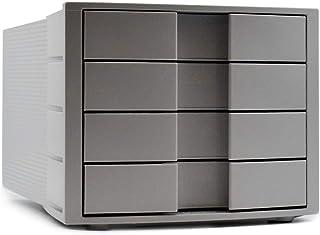 HAN 1010-X-11 Module de rangement Impuls, 4 tiroirs fermés, Gris clair, (Import Allemagne)