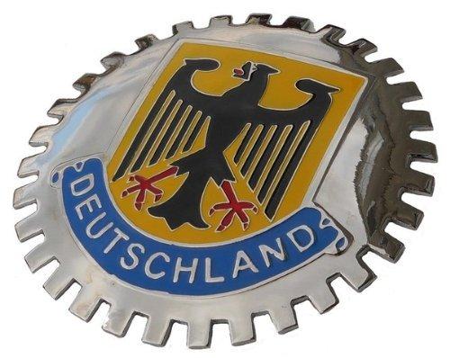 Deutschland (Germany) car Grille Badge