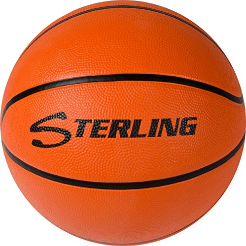 Find Bargain Sterling Premium Superior Grip Orange Official Size 7 Rubber Basketball