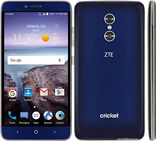 ZTE Grand X MAX 2 16gb unlocked cricket wireless blue