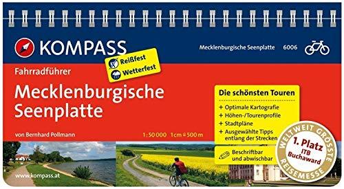 KOMPASS Fahrradführer Mecklenburgische Seenplatte: Fahrradführer mit Routenkarten im optimalen Maßstab.