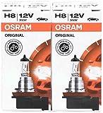 Osram 64212 Original Line H8 - Lampadine per fanali alogeni da 12 V con portalampada (2 pezzi)