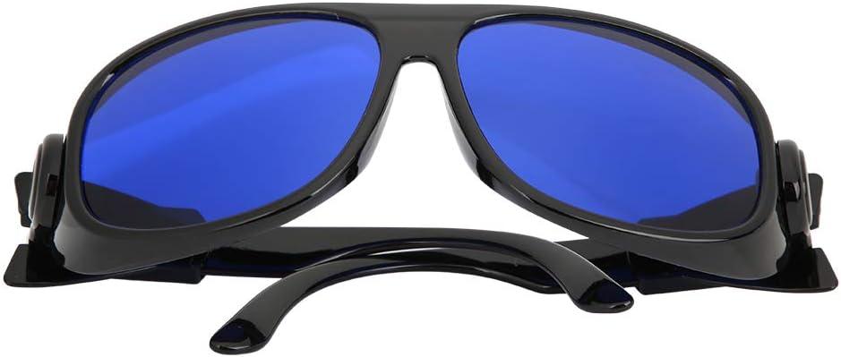 Gafas de protección, con ordenador personal Policarbonato Material Metal Accesorios Bronceado Cama Gafas de protección