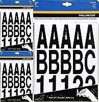 Hillman 847004 ブラックダイカットレター/数字キット 2インチ 3パック