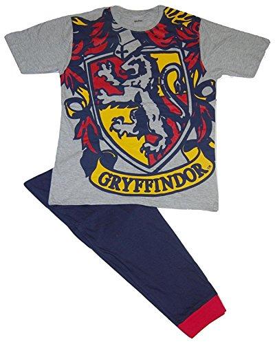 Harry Potter Hombres Gryffindor Logo Set de Pijama de Dos Piezas - XL