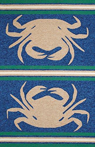 United Weavers of America Panama Jack Signature Indoor/Outdoor Crab Shack Rug, Taupe, 5' x 7'6