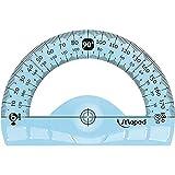 Maped Flex Righello Infrangibile 180 gradi, 120 mm, Colori Assortiti, 1 Pezzo