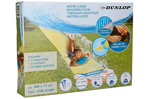 BRAVICH Dunlop Outdoors Kids Inflatable Spray Sprinkler Super Water Slide Ideal Summer Garden Fun - 5 Meter Length