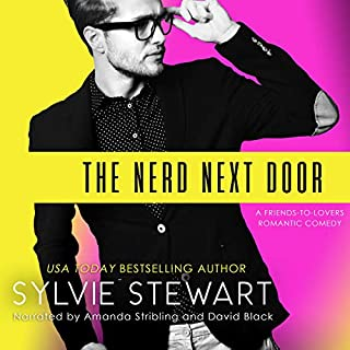The Nerd Next Door: A Friends-to-Lovers Romantic Comedy cover art