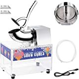 LiveCreative 250W Electric Shaved Ice Machine - Ice Crusher - Shaved Ice Maker Stainless Steel -...