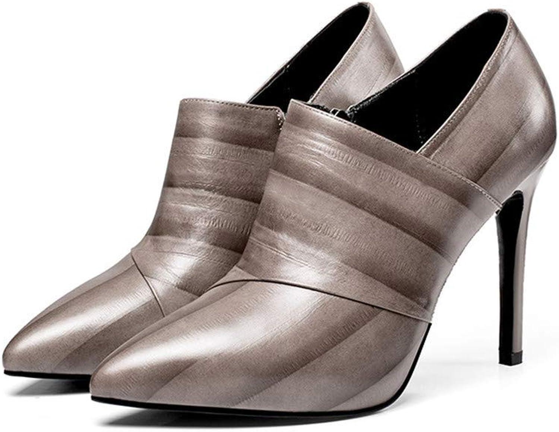 Shirloy Glamourse Temperament High Heel Stiletto wies einzelne Schuhe Wilde Leder Damen Schuhe Stiletto Schuhe