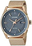 Citizen Men's Drive Japanese-Quartz Watch with Stainless-Steel Strap, Rose Gold (Model: BM6983-51H)
