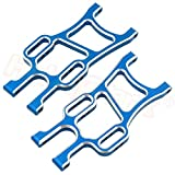 SDUIXCV HSP 108821 Aluminum Rear Lower Suspension Arm 08006 1/10 Upgrade Parts for RC Monster Truck Volcano Epx Exceed Infinity EP ( Color : Blue )