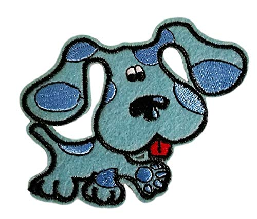 Blues Clues Dog Figure 2' Tall Embroidered Costume Patch