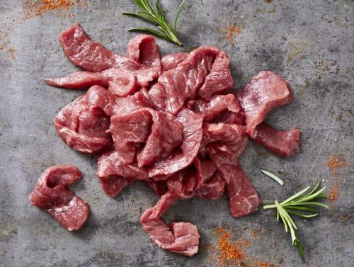 Kreutzers | Rindergeschnetzeltes Geringes Aussaften Beste Qualität Beef | 1000g