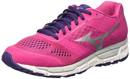 Mizuno Women's Synchro Mx Purple Running Shoes-7 UK/India (40.5 EU) (J1GF161904)