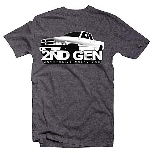 2ND Second Gen Ram Truck T-Shirt Dark Heather