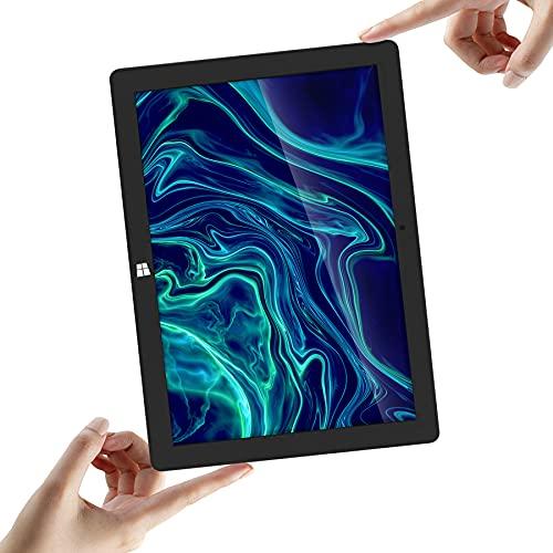 Tablet 2 en 1 para negocios y estudios, Bee Jumper Pro 8, 4 GB de RAM, 64 GB eMMC, Microsoft Office 365 gratis, Intel Celeron, memoria ampliable de 128 GB SSD y 128 GB TF, Windows 10 Home