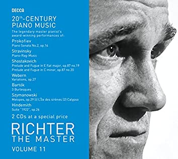 Richter The Master - 20th Century Piano Works