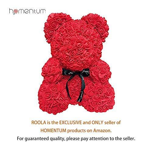 Rose Bear Teddy Forever Artificial Flowers