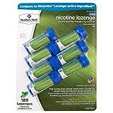 Members Mark 2mg Nicotine Lozenges, Mint (189 ct.) (Pack of 2)