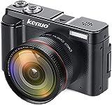 KENUO Digital Camera Vlogging Camcorder...