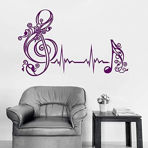 Pegatina Vinilo Musica  marca JHGJHGF