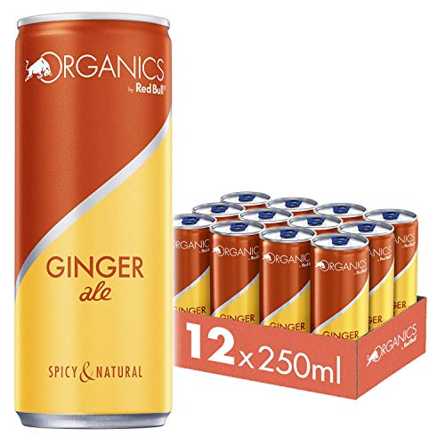 Organics by Red Bull Ginger Ale Dosen Bio, 12er Palette, EINWEG (12 x 250 ml)