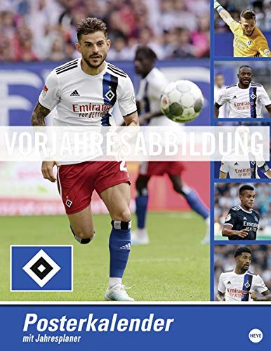 HSV Posterkalender Kalender 2021