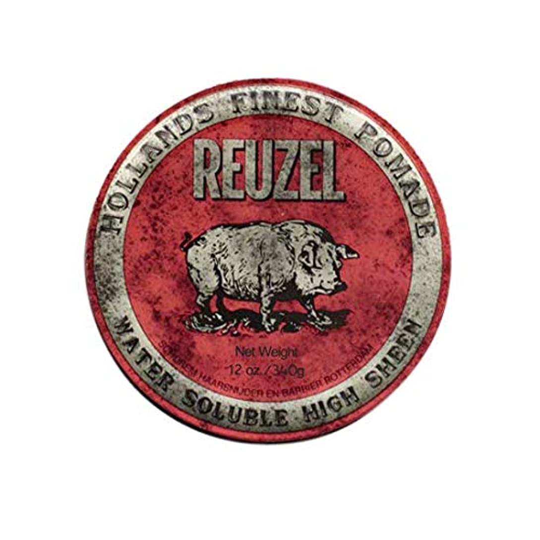 ブレス部分静脈ルーゾー(REUZEL) ミディアムホールド レッド HIGH SHINE 340g