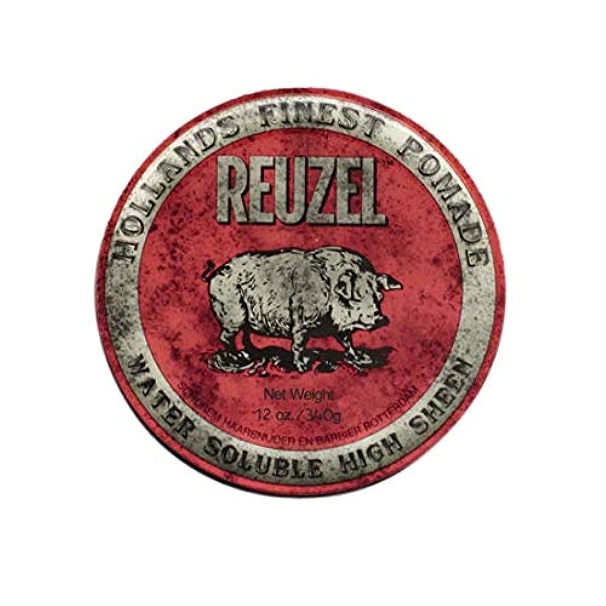 飢饉の間に思想ルーゾー(REUZEL) ミディアムホールド レッド HIGH SHINE 340g
