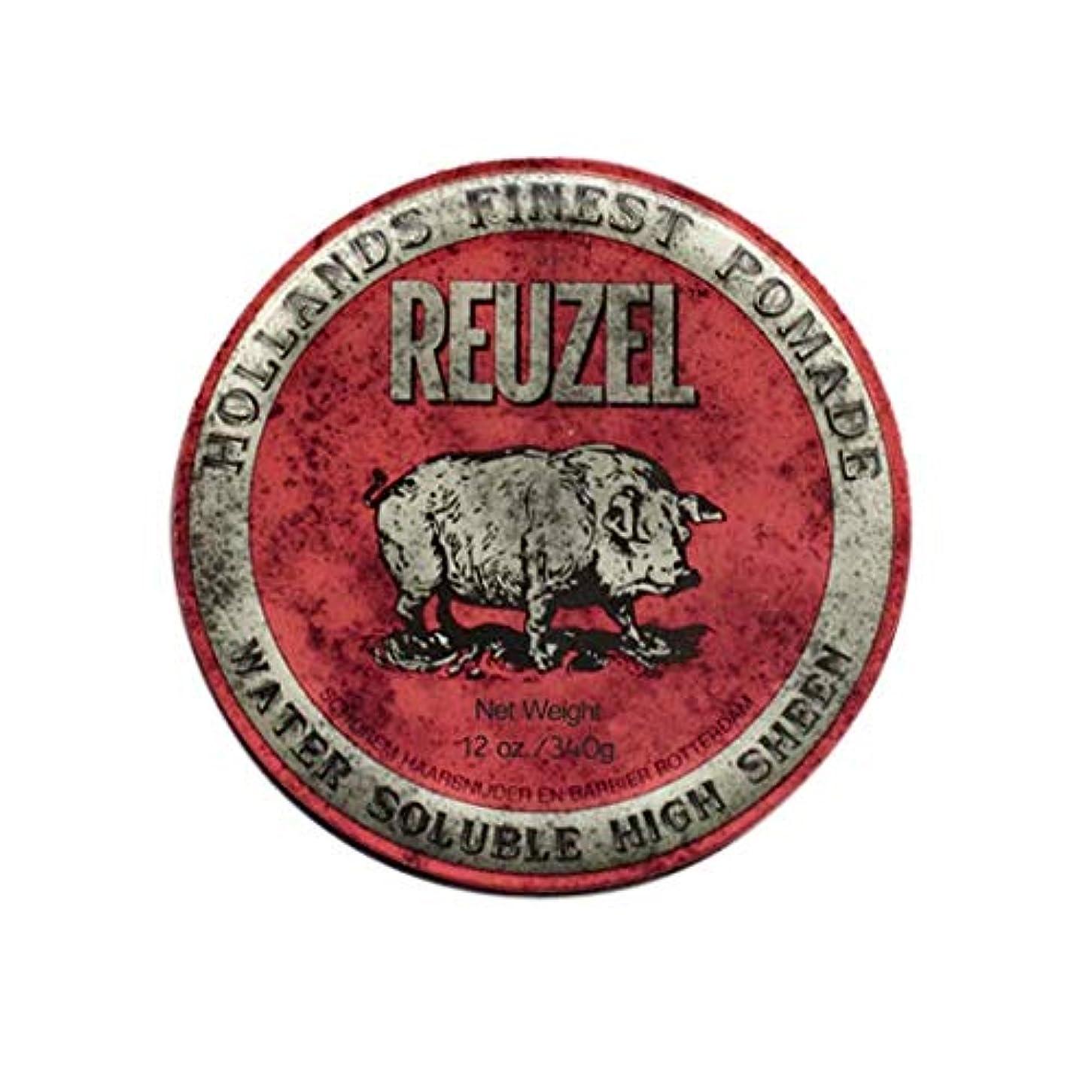ロボットパスポートバッグルーゾー(REUZEL) ミディアムホールド レッド HIGH SHINE 340g