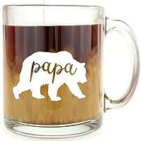 Bear Glass Coffee Mug Set