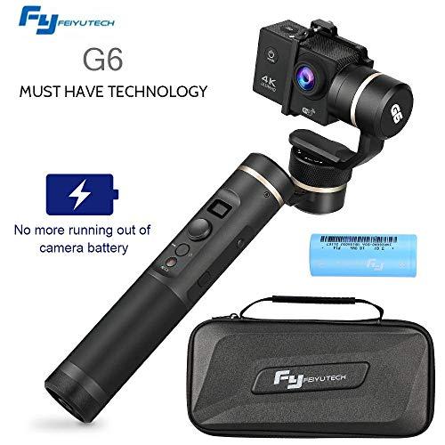 Mbuynow G6 Estabilizador de Vídeo 3-Axis Handheld Gimbal para GoPro Hero 6,...