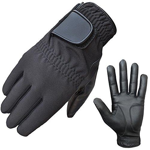 ATTONO Winter Golfhandschuhe Golf Winter Handschuhe Leder Handinnenfläche - Größe 8/M