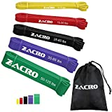 Zacro Fitnessbänder Widerstandsbänder 5 Stück unterschiedliche Resistance Bands Widerstandsband...