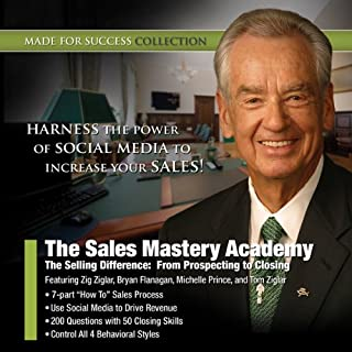 The Sales Mastery Academy audiobook cover art