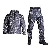 Taktische Jacke für Herren, Softshell-Jacke,...