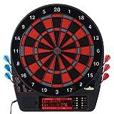 Freccette elettroniche, interfaccia a pulsanti facile da usare, tabellone segnapunti per cricket a doppia altezza, chiave Quick Cricket per entrare nel gioco più velocemente, 50 giochi e 704 opzioni