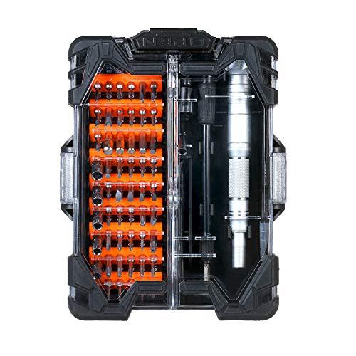 asx Juego de destornilladores de herramientas de monopatín de precisión Mini destornillador magnético Bits Set Teléfono Móvil IPad Cámara Mantenimiento Herramientas de reparación de hardware nacional