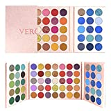 MOMSON Colorful Eyeshadow Makeup Palette – 65 Colors Pro High Pigmented Matte Shimmer Glitter Eyeshadow Palette, Holiday Professional Cosmetics Eye Shadows Palette, Natural Colors, Soft Warm, Long Lasting, Blendable, Nude, Idea Gift for Girlfriend, Sister, Wife and Daily Use