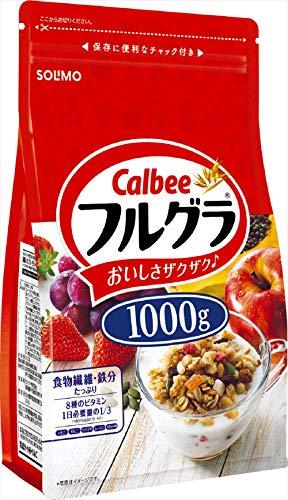 スマートマットライト [Amazonブランド] SOLIMO カルビー フルグラ 1000g