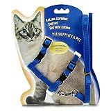 Yunnyp Katzenhalsband Leine Katzengeschirr Und Leine Kätzchen Verstellbarer Zuggurt Gürtel Halfter Kragen
