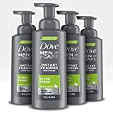 Dove Men+Care  Foaming Body Wash to Hydrate Skin Extra Fresh Effectively Washes Away Bacteria While Nourishing Your Skin 13.5 oz 4 count