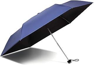 折りたたみ 日傘 完全遮光 超軽量195g UVカット率100% UPF50+ 遮熱 強力撥水