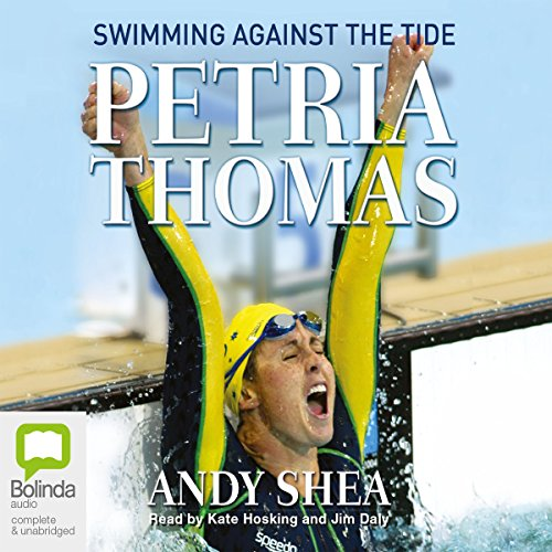 Petria Thomas audiobook cover art
