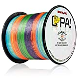 OPA PEライン 1000m 4編 5色カラー 釣り糸 高強度 高感度 高耐久 特殊コーティング (0.4号 8lb)