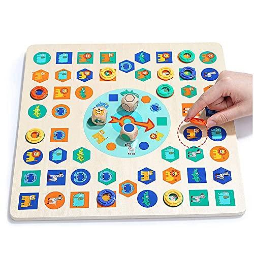 INSTO Childrens Publica Publica de Ajuste de Ajuste de Ajuste de Juguetes de Jugos de Juegos de Publicos de Dice de Dice