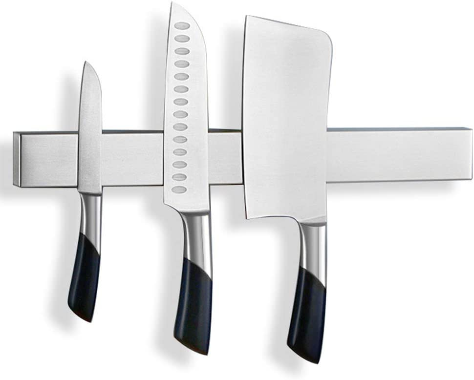 Limited time trial price Lunchbox.com Magnetic Knife Bar Holder Steel Magnet Complete Free Shipping K Stainless